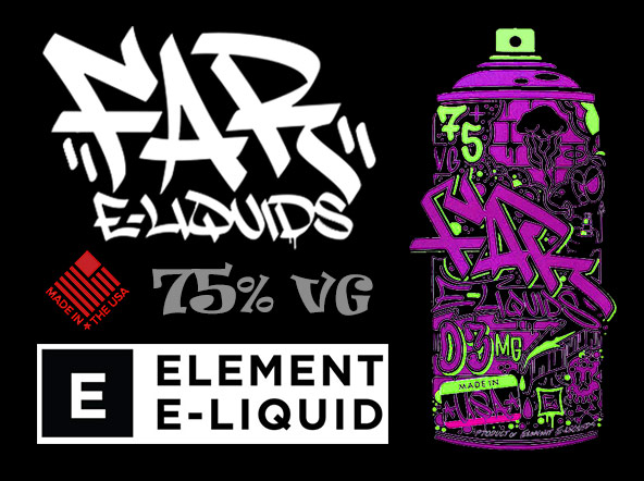 FAR Eliquids by Element Review | Planet of the Vapes