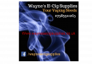 Waynes ecig supplies Logo