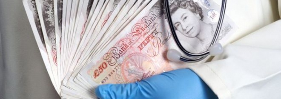 NHS bosses paid by drug firms