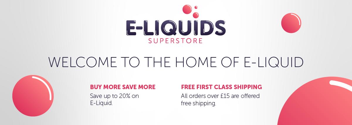 E-Liquid Superstore Hero Image