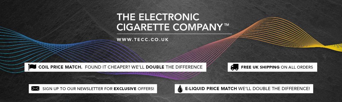 The Electronic Cigarette Company (TECC) Hero Image