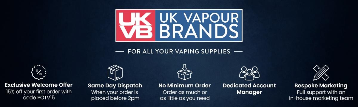 UK Vapour Brands Hero Image