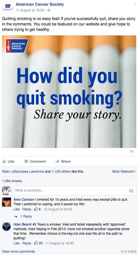 Smoking Costs Cessation