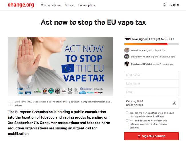 Say 'No' To The EU Vape Tax | Planet of the Vapes